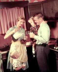 Mom's job in 1950